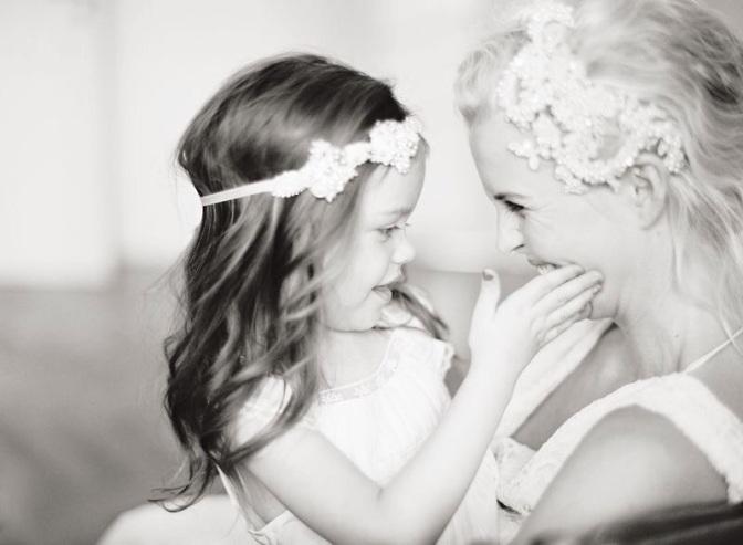 26 fotos de mães e filhas no dia do casamento