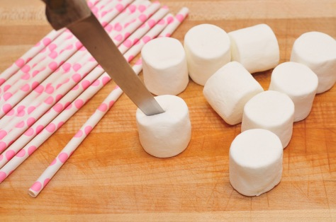 Marshmallows-Cutting Slits