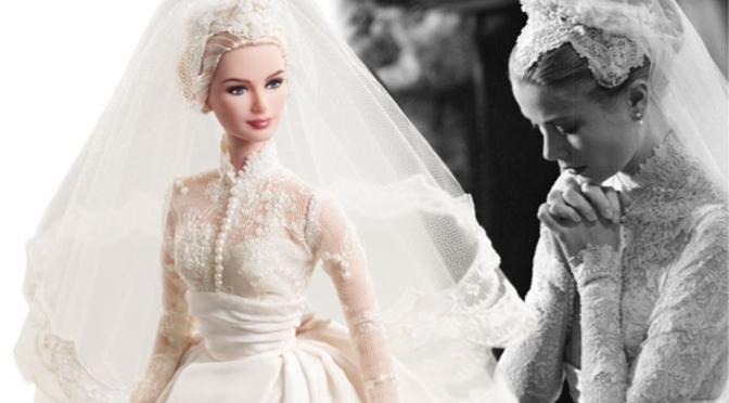 26 Barbies com vestidos de noiva que vão te fazer sonhar