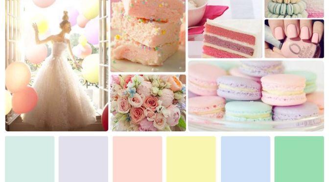 Paleta de Cores | Tons Pastel: Romantismo & Delicadeza