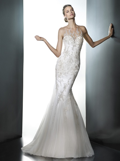 pleya front wedding dresses