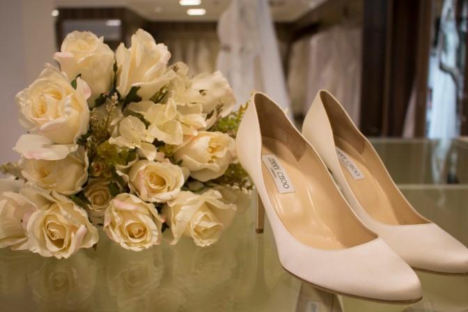 Acessórios e Sapatos para Noiva na SAX Department Store